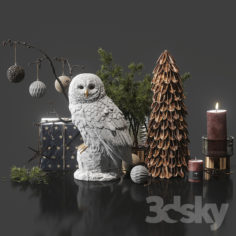 Decorative set 11                                      3D Model