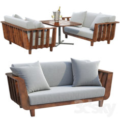 Issho Outdoor furniture                                      3D Model