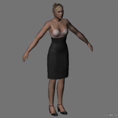 Elizabeth Stark 3D Model