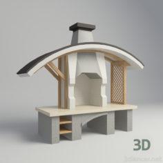 3D-Model  B-B-Q