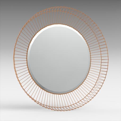 Bricius Round Mirror 3D Model