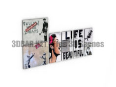 Banksy Pictures 3D Collection