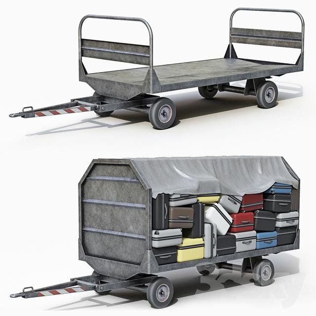 Luggage trolley                                      3D Model