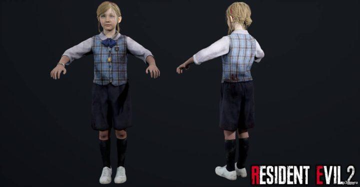 Sherry Birkin 3D Model