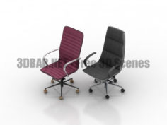 Quinti Amelie ICE Office armchair 3D Collection