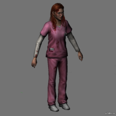 Lisa Garland 3D Model