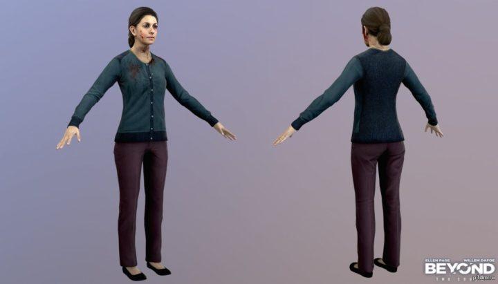 Helen Dawkins 3D Model