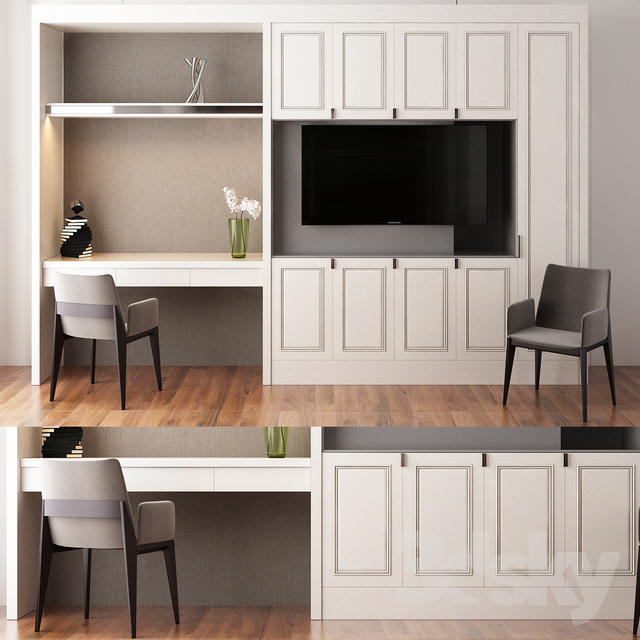 Built-in cabinetry                                      3D Model