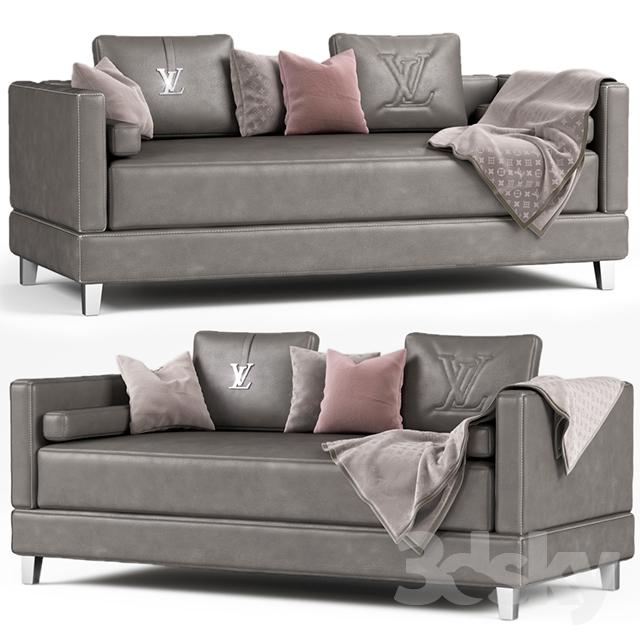 LOUIS VUITTON sofa                                      3D Model