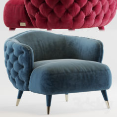 Savoi Armchair by black tie                                      3D Model