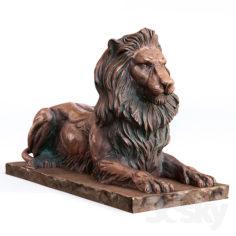 Leo Sculpture                                      3D Model