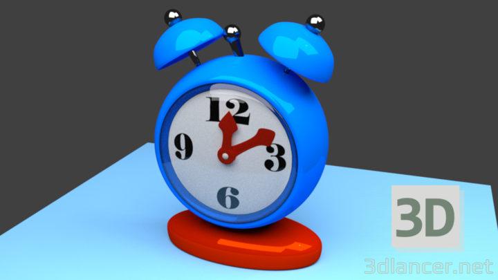 3D-Model  clock