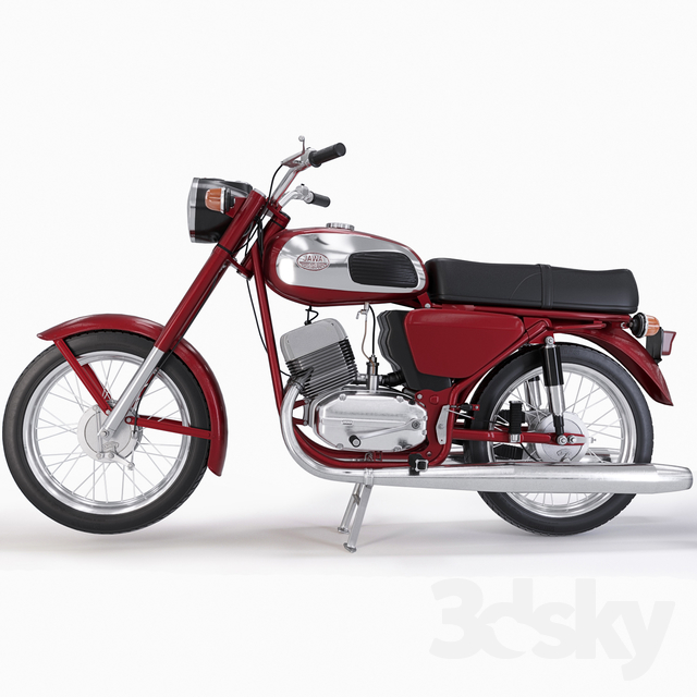 Jawa 634_01                                      3D Model