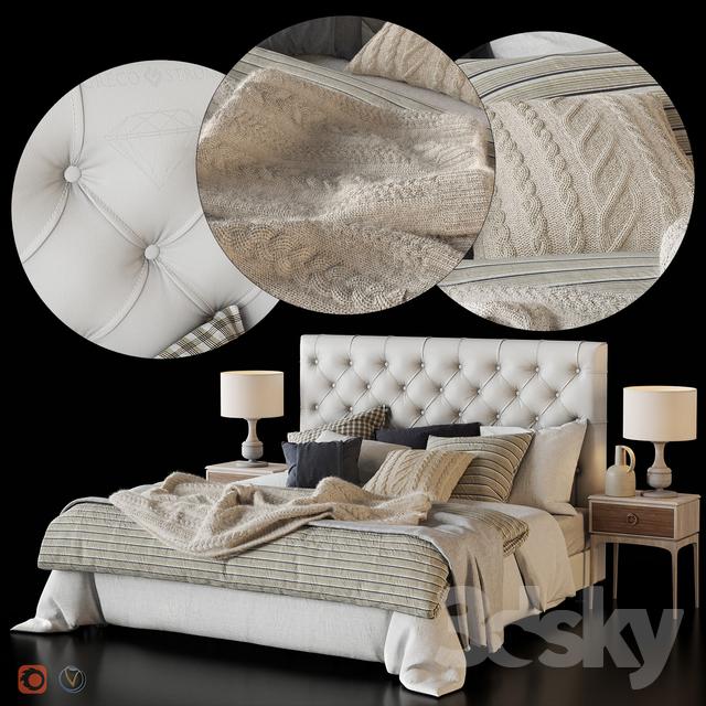 """CLASSIC"" by Greco Strom + Zara Home linen                                      3D Model"