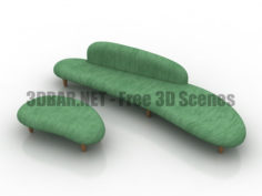 Vitra Freeform Sofa 3D Collection