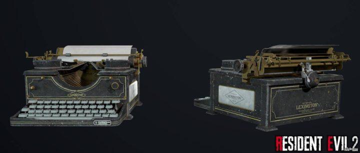 Typerwriter (Save) 3D Model