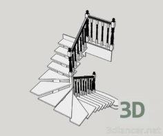 3D-Model  Ladder model