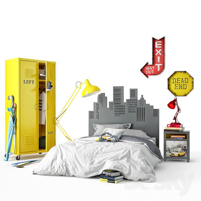 Junior bed                                      3D Model