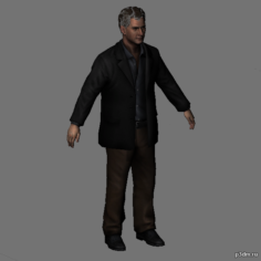 Michael Kaufmann 3D Model