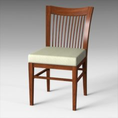 Shane 6552 Chair Set 3D Model