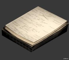 Office Paper C 3D Model