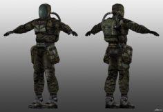 SEVA Suit 3D Model