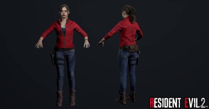 Claire Redfield 3D Model