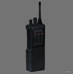 Walki-Talkie 3D Model