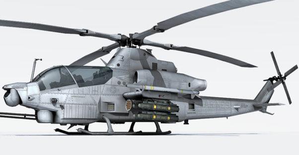 AH-1Z Viper 3d model