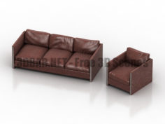 Walter andrew martin sofa 3D Collection