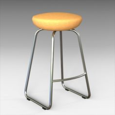 Bakou 652 Bar Stool 3D Model