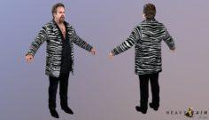 Paco Mendez 3D Model