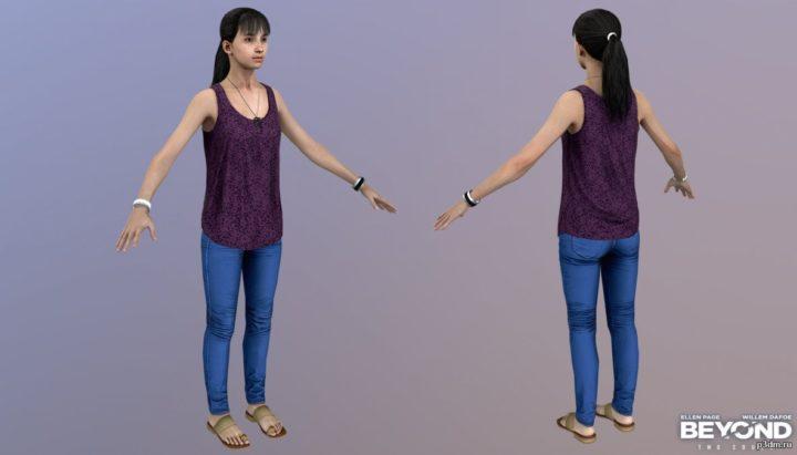 Jen 3D Model