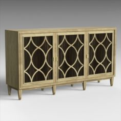 Playlist Sideboard 3D Model
