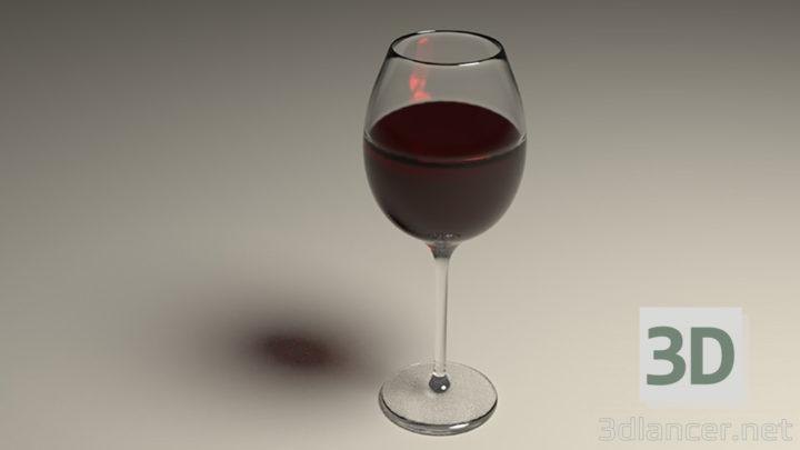 3D-Model  wine glass