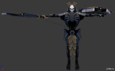 Necron Lychguard 3D Model