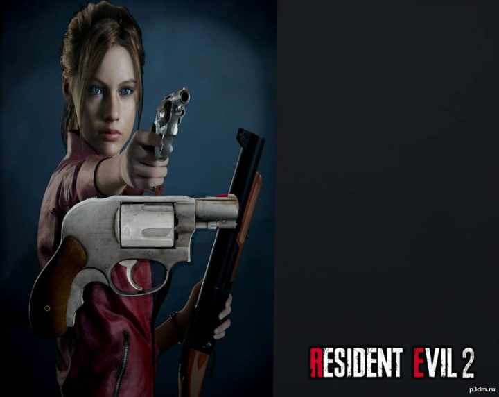 Claire Redfield's Weapon 3D Model