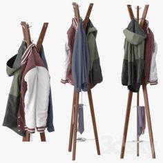 Hanny coat stand                                      3D Model
