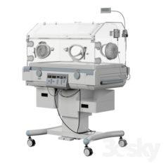 Incubator for newborns of JW Medical i-1000                                      3D Model