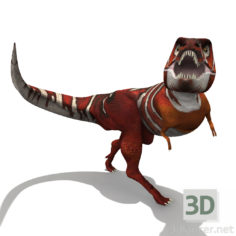 3D-Model  Simple Tyrannosaurus