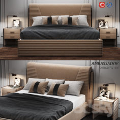 Estetica Ambassador bed                                      3D Model