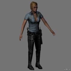 Cybil Bennett 3D Model