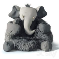 Plush elephant                                      3D Model