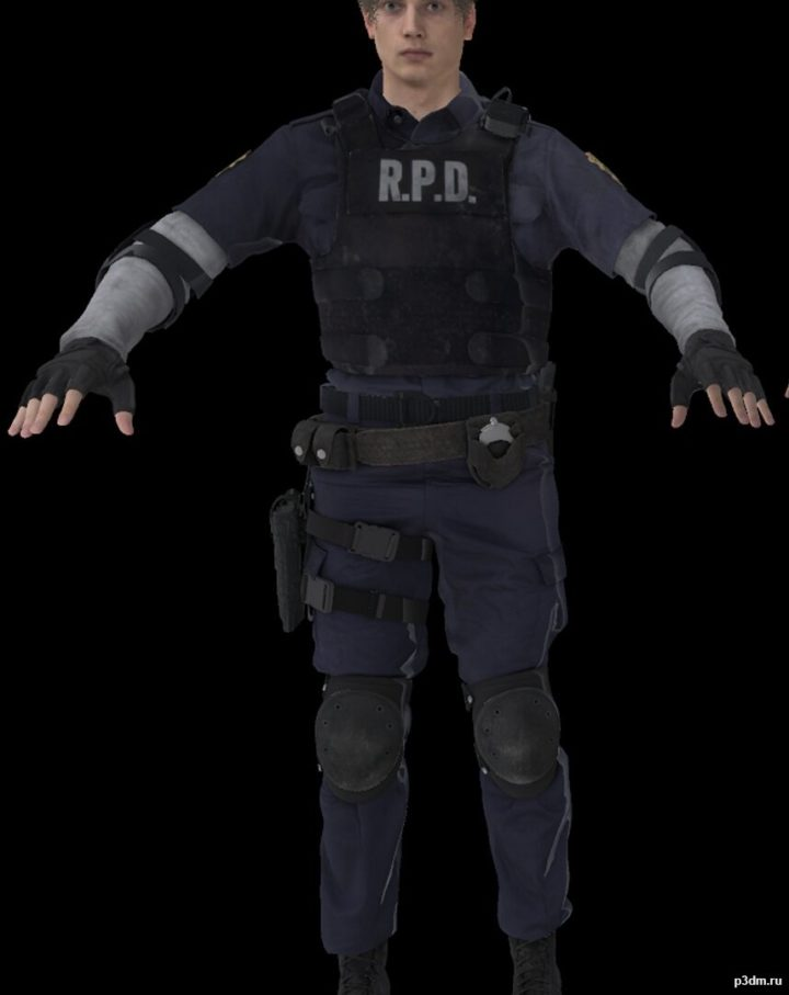 Leon S Kennedy 3d Model 3dhunt Co