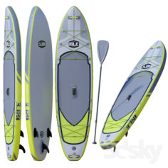 ISLE Explorer Inflatable Paddle Board Package                                      3D Model
