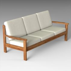Generic 80s Seating 3D Model