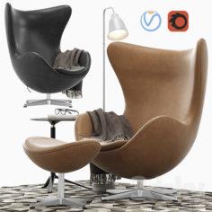 Egg lounge chair                                      3D Model
