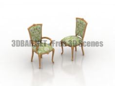 Istiridye classic chair 3D Collection