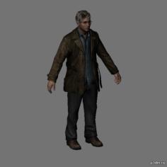 Harry Mason 3D Model