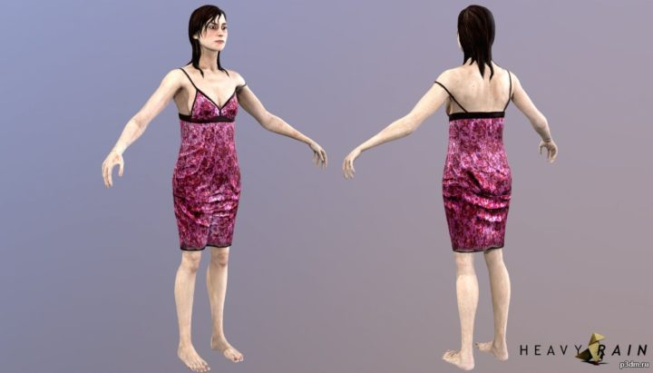 Susan Bowles 3D Model